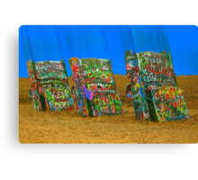 Cadillac Ranch - Amarillo Canvas Print