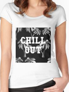 Chillout Women's Fitted Scoop T-Shirt