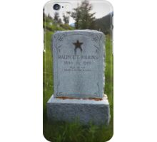 Ralph E. T. Wilkins, WWI iPhone Case/Skin
