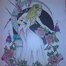 The flower princess by johanne1
