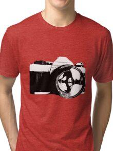 Film camera. Tri-blend T-Shirt