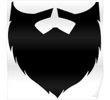 Men's Beard Poster