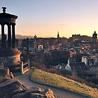 Edinburgh Glow  by TonyClerkson