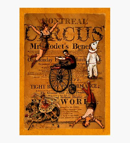 At the Circus Photographic Print