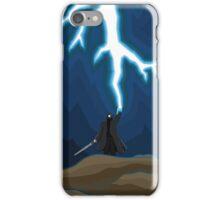 Lightening Man iPhone Case/Skin