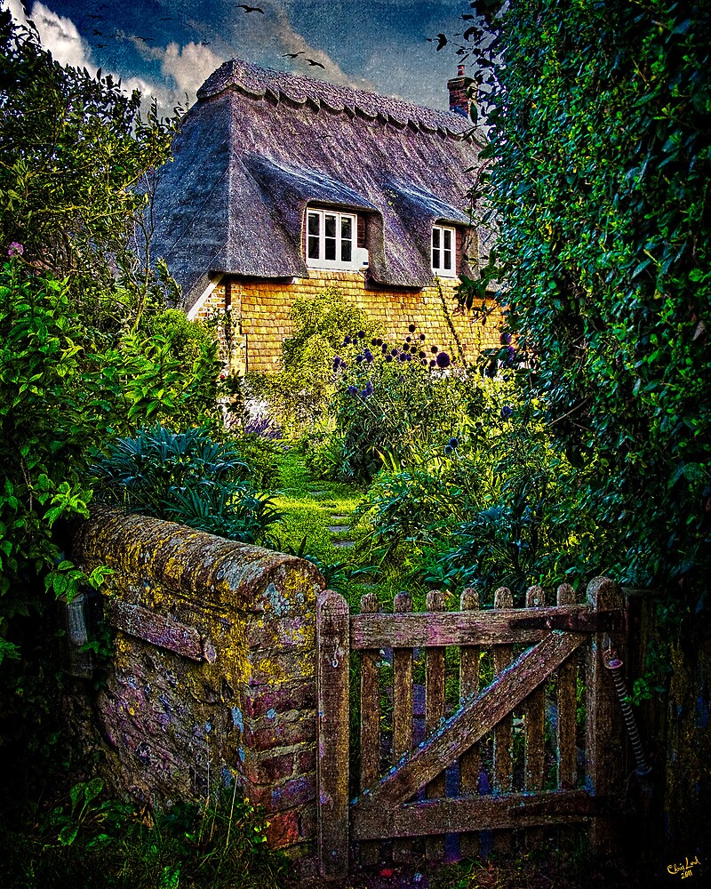 Thatched Roof Country Home by Chris Lord