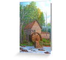 Loudermilk Gristmill in Habersham County Georgia Greeting Card