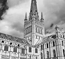 Norwich Cathedral #1 by Firesuite