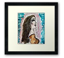 Returning to Our Unconscious Reality… Framed Print