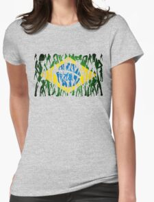 Brazileiras (nova) Womens Fitted T-Shirt