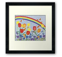Hummingbird Heaven Framed Print