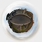 Foro Traiano (Rome -Italy) - Little Planet by Luca Tranquilli