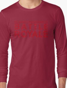 H1Z1 - Battle Royale Red Long Sleeve T-Shirt