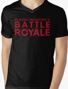 H1Z1 - Battle Royale Red Mens V-Neck T-Shirt