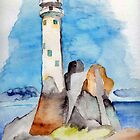 Lighthouse, Fastnet by Eva  Ason
