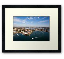 Drummoyne, NSW Framed Print