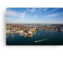 Drummoyne, NSW Canvas Print