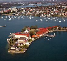 Spectacle Island, Sydney by Malcolm Katon