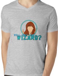 Isn't that Wizard? - Donna Mens V-Neck T-Shirt