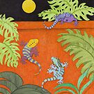 Moon Over My Geckos by Judy Newcomb