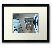 Stair Well  Framed Print