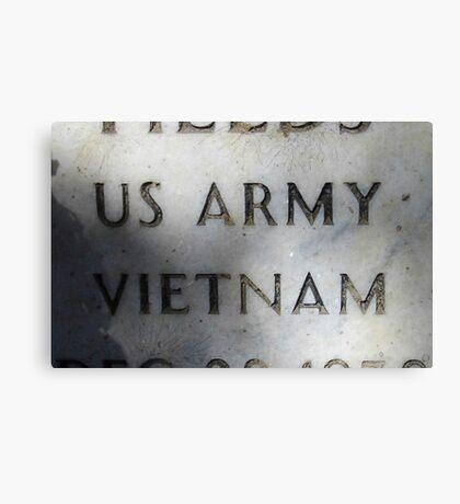 'Nam Memorial Canvas Print