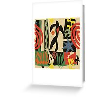 Inspired by Matisse (Vintage) Greeting Card