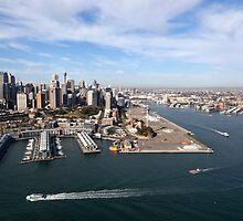 Walsh Bay, Sydney by Malcolm Katon