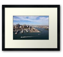 Walsh Bay, Sydney Framed Print