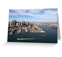 Walsh Bay, Sydney Greeting Card