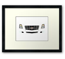 2008-2013 Cadillac CTS Framed Print