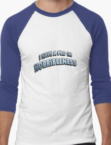 PHD in HORRIBLENESS Men's Baseball ¾ T-Shirt