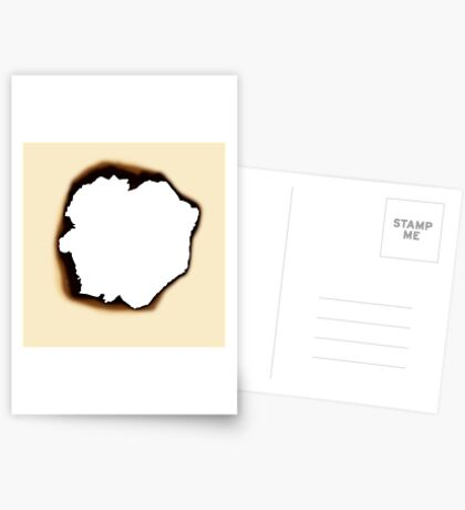 Burnt Hole Postcards