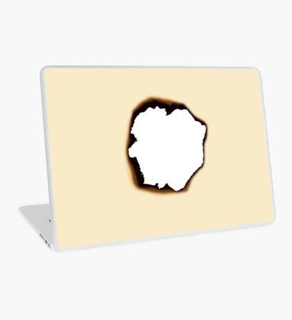 Burnt Hole Laptop Skin
