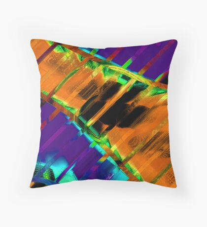 A Bridge Over Troubled Waters Throw Pillow