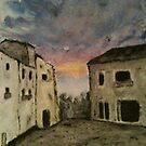 Italian Landscape by Nicla Rossini