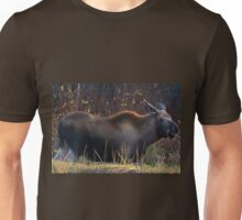 Young (Smile for the Camera) Moose-Alaska Unisex T-Shirt