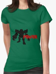 Power Type: E123 Omega Womens Fitted T-Shirt
