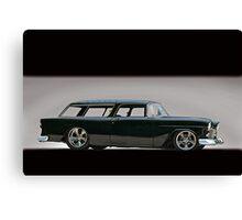 1955 Chevrolet Nomad Wagon Canvas Print