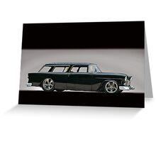 1955 Chevrolet Nomad Wagon Greeting Card