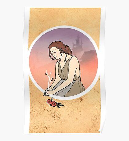 Cinderella´s mother Nouveau Old Stories Poster