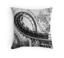 Roller Coaster Flip Throw Pillow