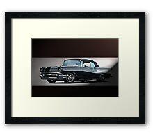 1957 Chevrolet Convertible Framed Print