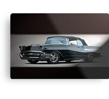 1957 Chevrolet Convertible Metal Print