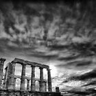 Temple of Poseiden by Mike Traynor Photography