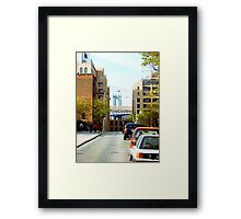 Leone's Point of View Framed Print