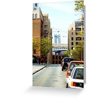 Leone's Point of View Greeting Card