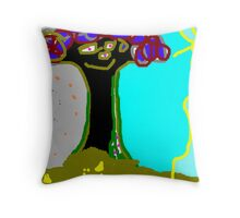 this is titled 'tree man' Throw Pillow