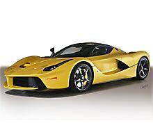 Ferrari F150 LaFerrari VSI Photographic Print