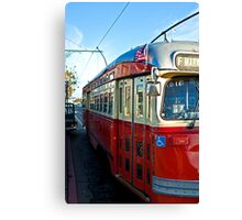Streetcar Canvas Print